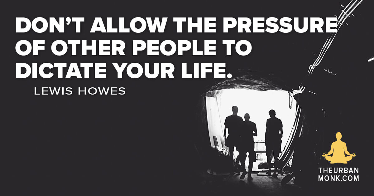"""""""Don't allow other people to dictate your life."""" @LewisHowes via @PedramShojai"""