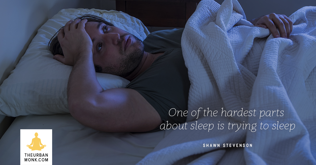 One Of The Hardest Parts About Sleep Is Trying To Sleep - @ShawnModel via @PedramShojai