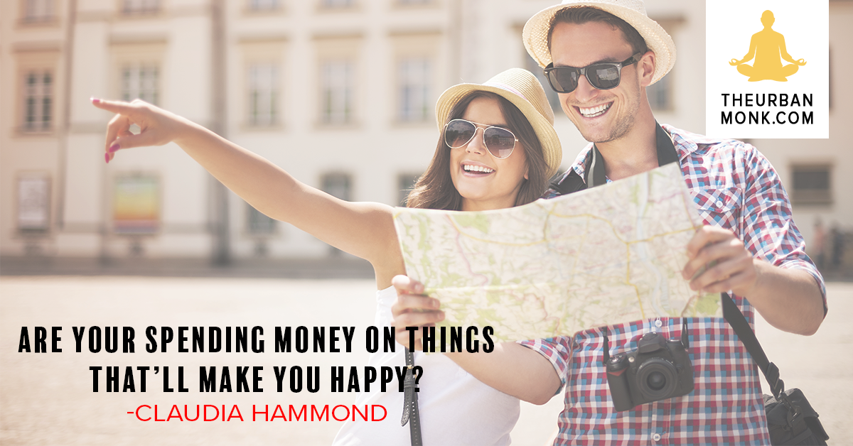Are You Spending Money On Things That'll Make You Happy? - @claudiahammond via @PedramShojai